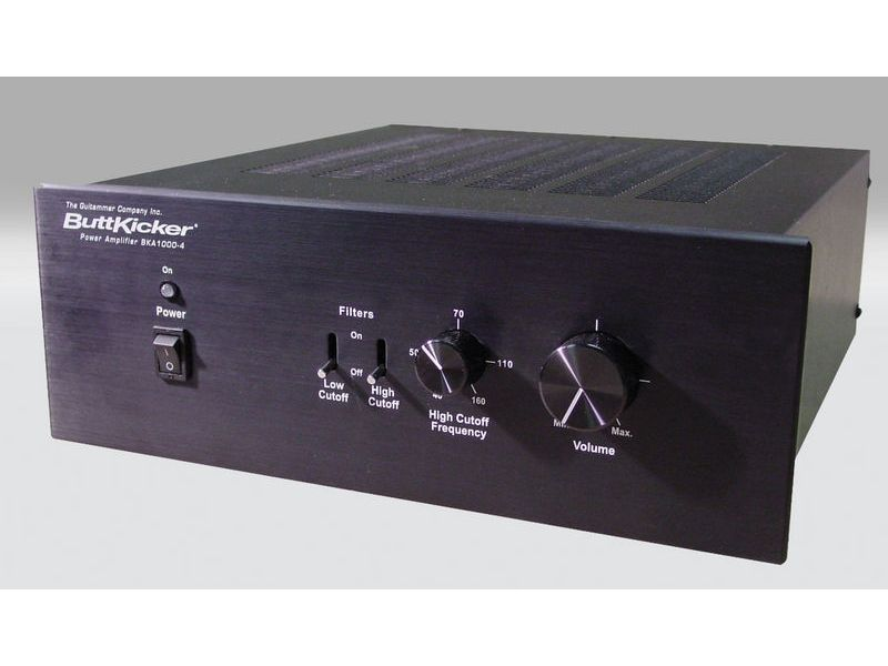 Fischer Amps ButtKicker Amplifier BKA 1000-4 | Komponenty pre In-Ear monitoring - 1