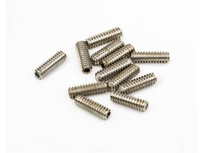 FENDER šroubky BASS SADDLE HEIGHT SCREWS HEX 6-32x7/16 sada | Basgitarový hardvér - 1