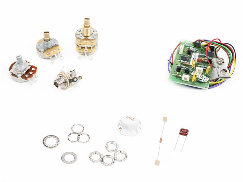 Fender Mid Boost Preamp Kit Eric Clapton | Potenciometre, knoby - 3