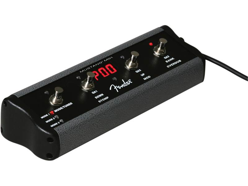 FENDER Footswitch 4-Button Mustang | Nožné prepínače, Footswitche - 1