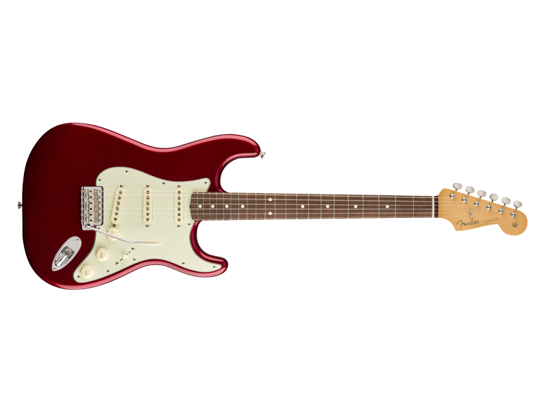 Fender 60s Stratocaster Pau Ferro Candy Apple Red with Gigbag | Gitary typu Strat - 1