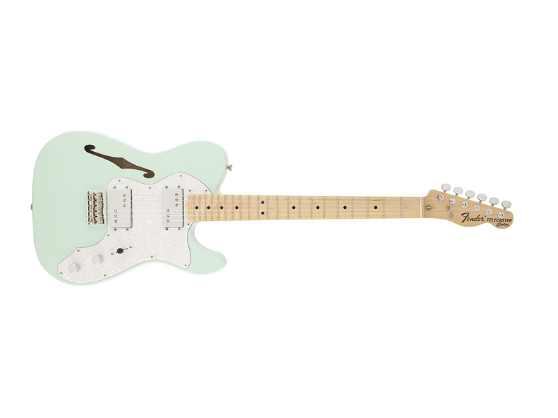 Fender Special Edition 72´ Tele Thinline Surf Green | Gitary typu Tele - 1