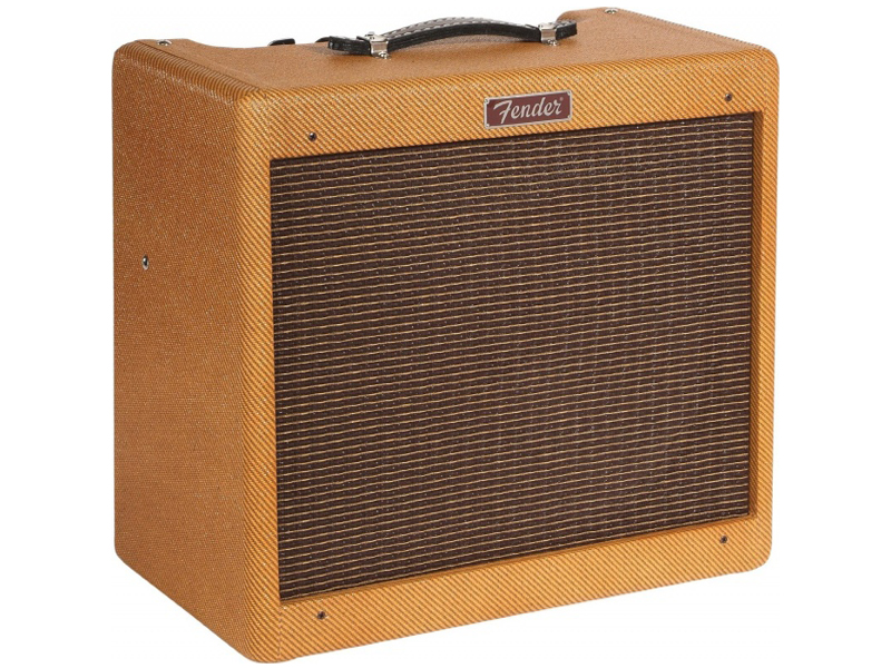FENDER Blues Junior LTD C12-N Lacquered Tweed | Celolampové kombá - 1