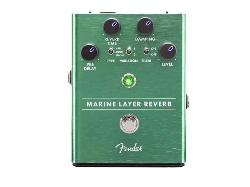 FENDER Marine Layer Reverb Pedal | Reverb, Hall - 1