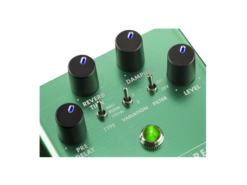 FENDER Marine Layer Reverb Pedal | Reverb, Hall - 5
