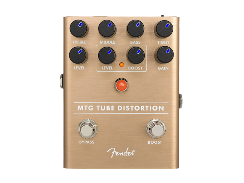 FENDER MTG Tube Distortion Pedal | Overdrive, Distortion, Fuzz, Boost - 1