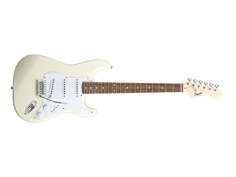 FENDER Squier Bullet Strat with Tremolo IL Arctic White | Gitary typu Strat - 1