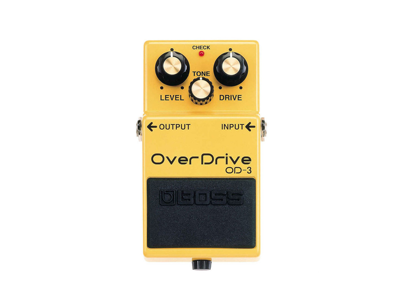 BOSS OD 3 overdrive | Overdrive, Distortion, Fuzz, Boost - 1