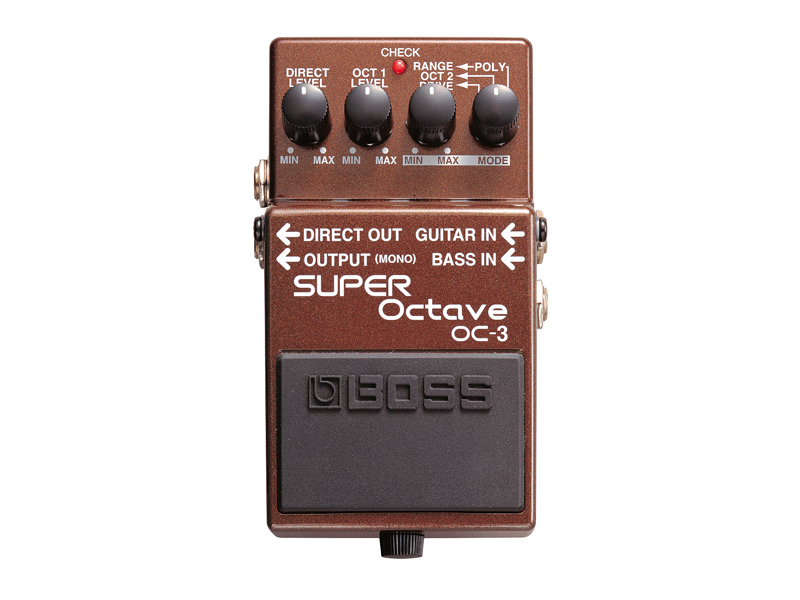 BOSS OC-3 | Octaver, Harmonizer, Pitch Shift - 2