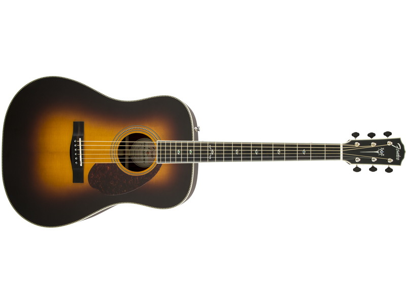FENDER PM-1 DELUXE DREADNOUGHT VINTAGE SUNBURST | Dreadnought - 1