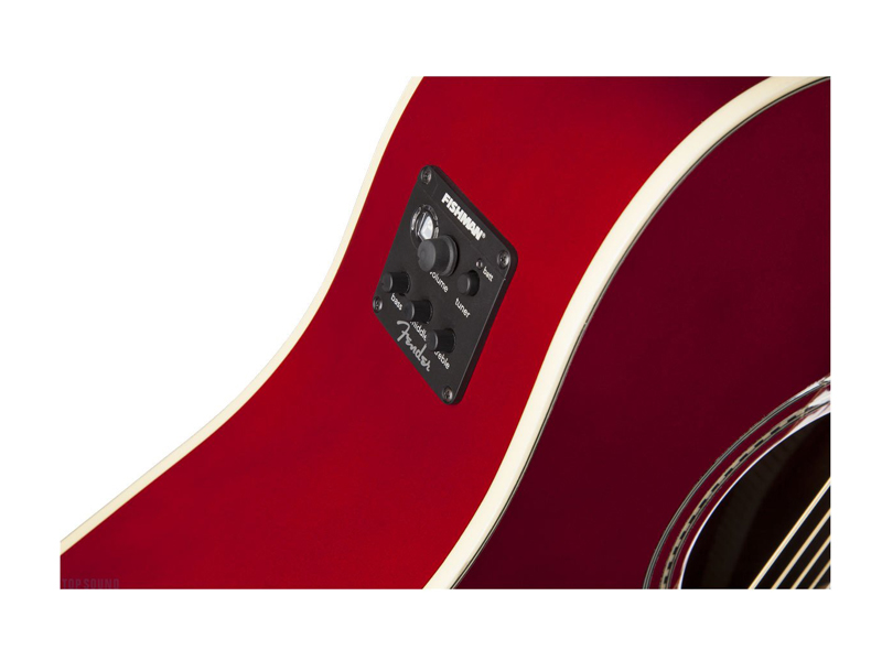 FENDER Sonoran SCE Candy Apple Red v2 | Dreadnought - 2