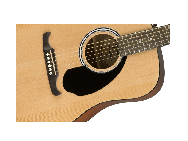 FENDER FA-125 Dreadnought Acoustic, Natural | Dreadnought - 4