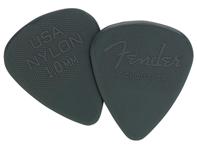 Fender trsátko Fender Nylon Pick 12 ks 1/2 Gross 1.00 | Trsátka - 1