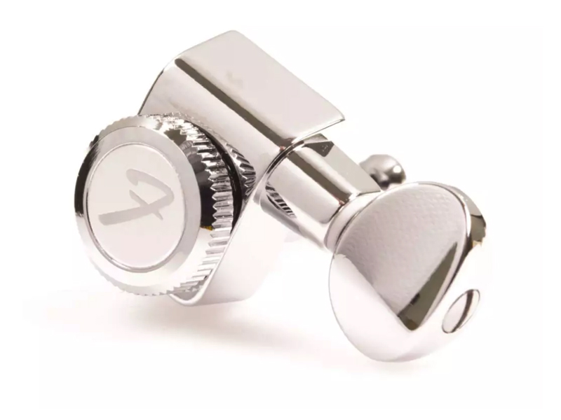 FENDER LOCKING TUNERS, CHROME VINT BUTTON | Ladiace mechaniky - 1
