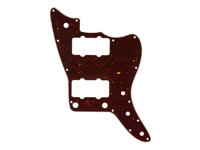 Fender American Professional Jazzmaster Pickguard, 13-Hole, Shell | Pickguardy - 1