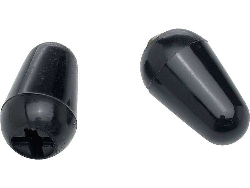 FENDER Original Stratocaster switch tips Black | Prepínače snímačov - 1
