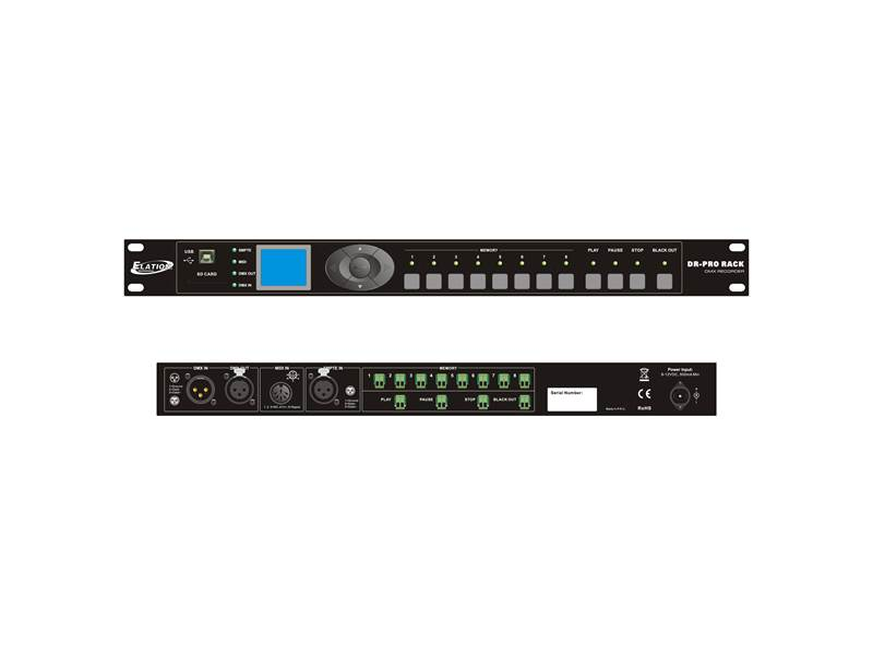 ELATION DR-PRO Rack | Ovládacie pulty - 1