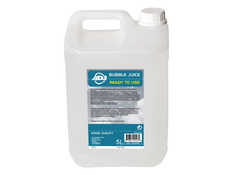 American DJ Bubble juice concentrate for 5L | Náplne - 1