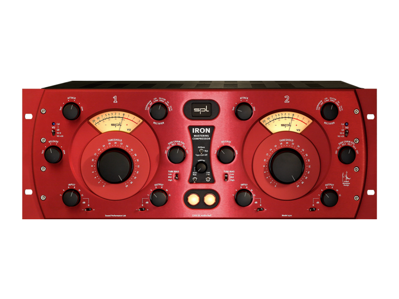 SPL Iron Mastering Compressor Red | Dynamické procesory - 1