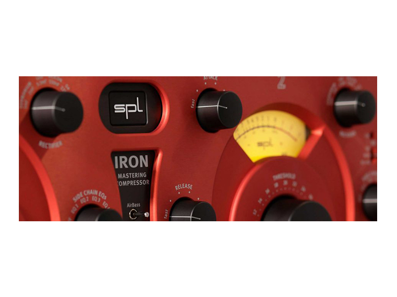 SPL Iron Mastering Compressor Red | Dynamické procesory - 2
