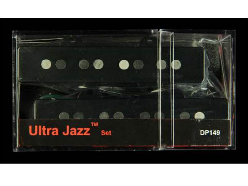 DiMarzio DP 149BK Ultra Jazz Black set of 2 | Basgitarové snímače - 2