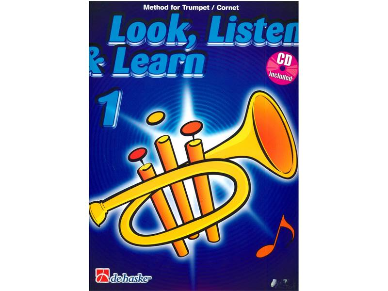 LOOK, LISTEN & LEARN 1 + CD method for trumpet | Školy hry na trúbku - 1