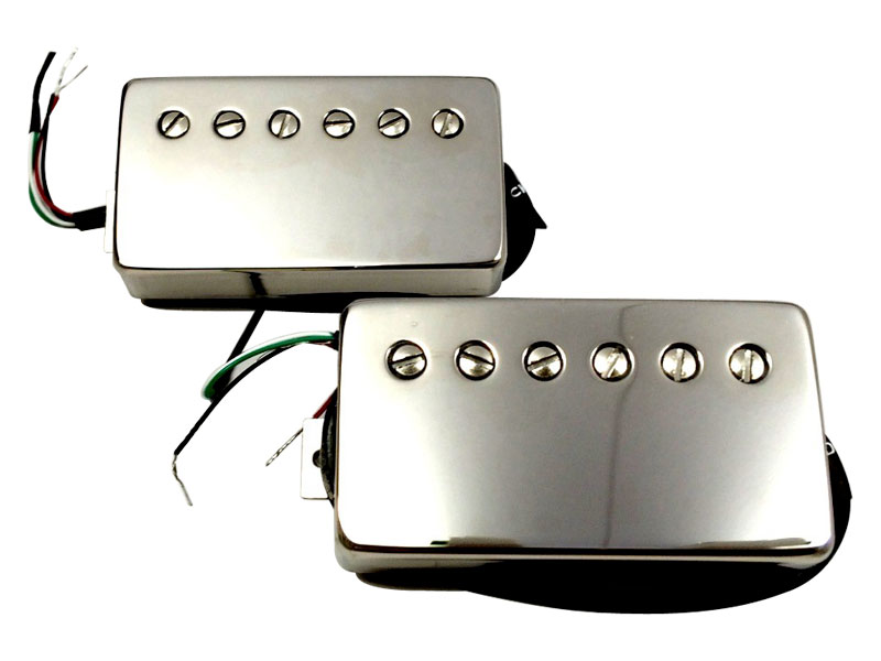 Bare Knuckle Rebel Yell calibrated nickel covered set Humbucker | Sady snímačov - 1