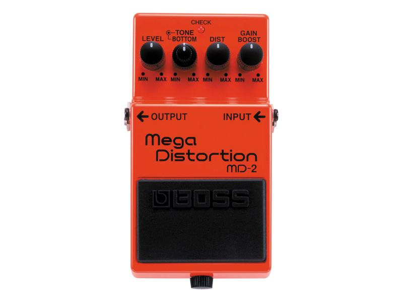 BOSS MD 2 Mega Distortion | Overdrive, Distortion, Fuzz, Boost - 1