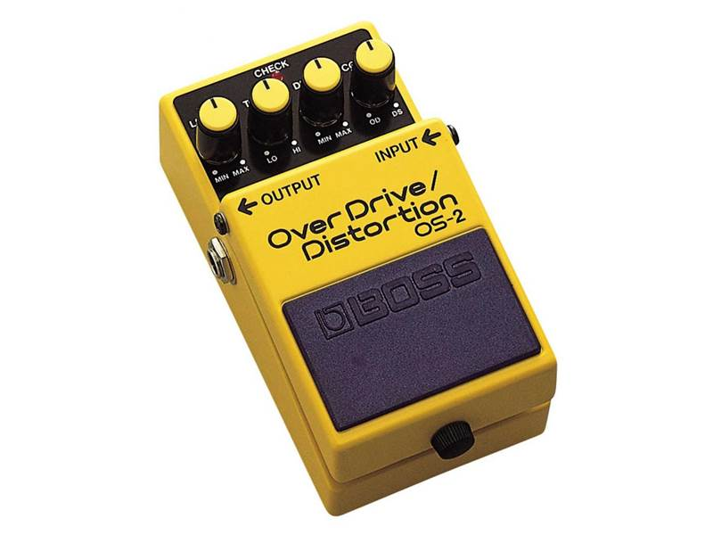 BOSS OS 2 overdrive distortion | Overdrive, Distortion, Fuzz, Boost - 1