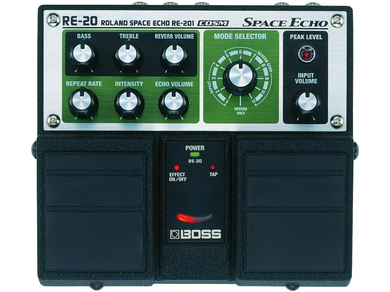 BOSS RE 20 Space Echo | Delay, Echo - 1
