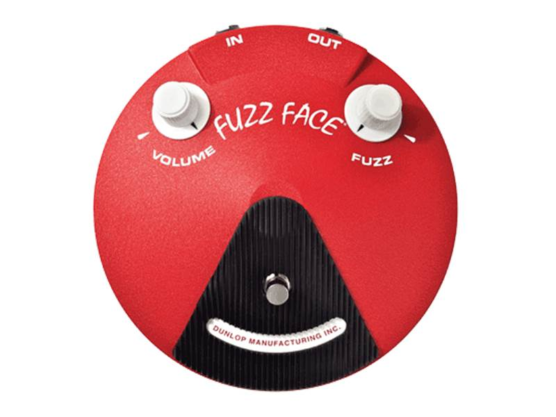 Dunlop JH-F3 Band Of Gypsys Fuzz Face | Overdrive, Distortion, Fuzz, Boost - 1