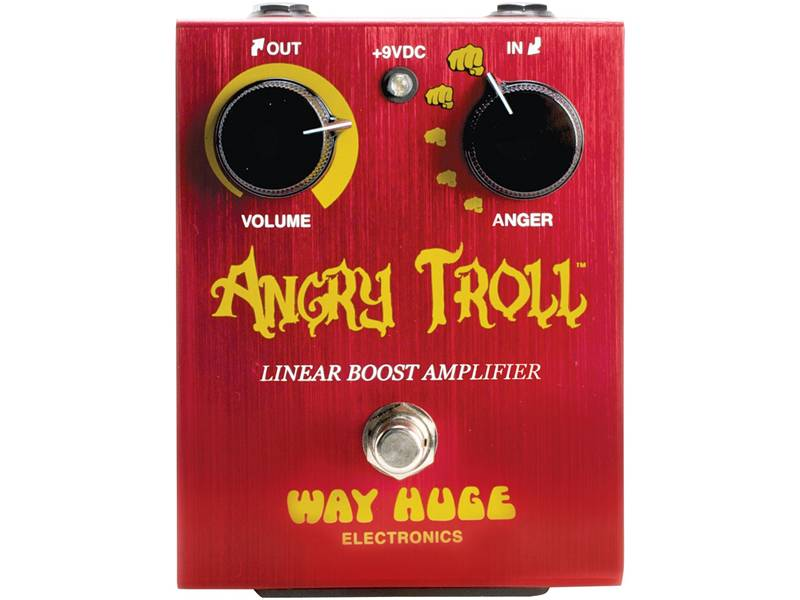 Way Huge Angry Troll Linear Booster | Overdrive, Distortion, Fuzz, Boost - 1