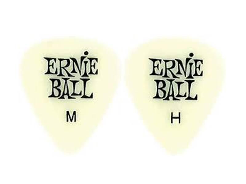 Ernie Ball 9226 Cellulose Fluorescent 0.97mm Heavy - 12ks | Trsátka - 1