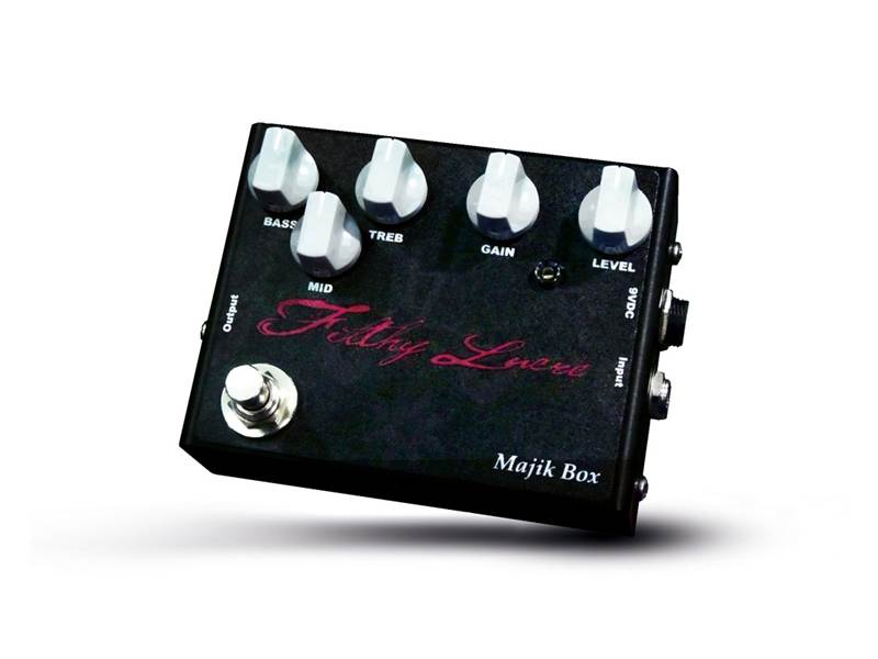 Majik Box Filthy Lucre distortion Plexi v krabičce | Overdrive, Distortion, Fuzz, Boost - 1