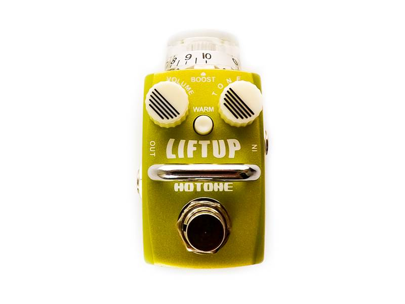 Hotone Liftup Clean Boost | Overdrive, Distortion, Fuzz, Boost - 1