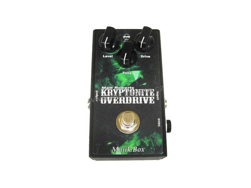 Majik Box Kryptonite Overdrive KO-1 boutique distortion | Overdrive, Distortion, Fuzz, Boost - 1
