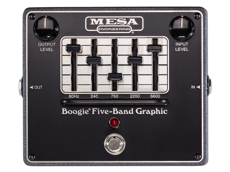 Mesa Boogie Five-Band Graphic | Ekvalizéry - 1