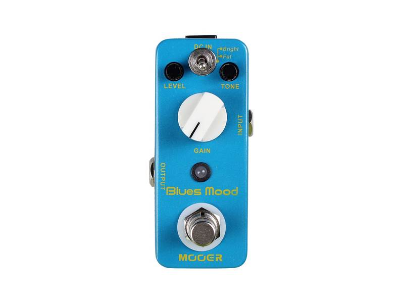 WARWICK Mooer Blues Mood, Blues Drive Pedal | Overdrive, Distortion, Fuzz, Boost - 1