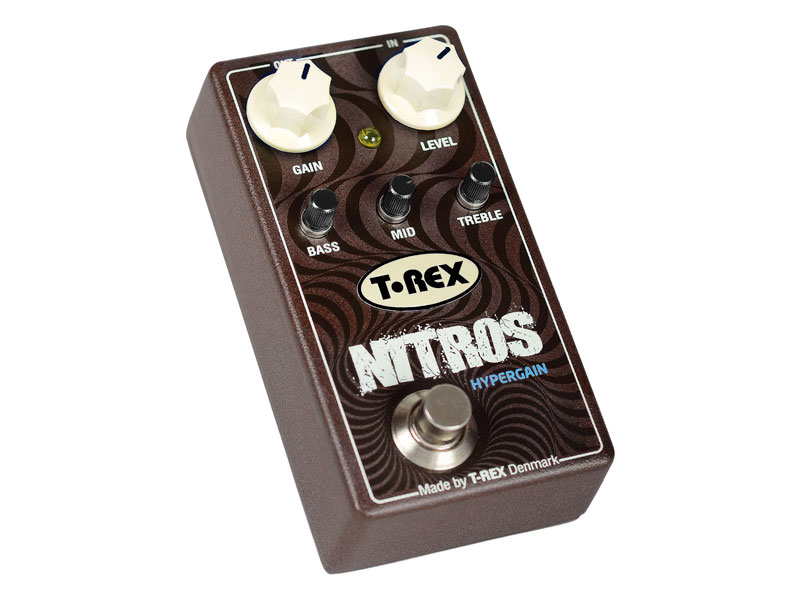 T-Rex Nitros | Overdrive, Distortion, Fuzz, Boost - 1