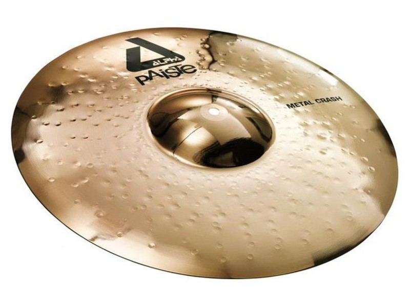 PAISTE Alpha 18 Brilliant Metal Crash | Crash - 1