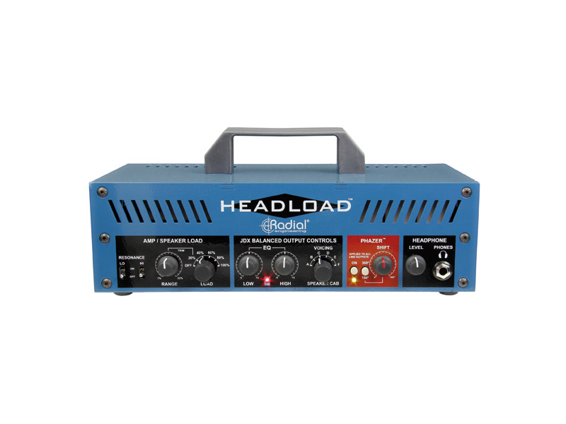 Radial Headload V16 - Guitar Amp Load Box | Power brake a Speaker simulátory - 1