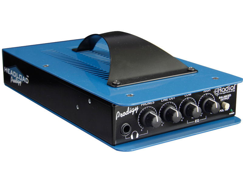 Radial Headload Prodigy, Load Box, DI Box | Power brake a Speaker simulátory - 1