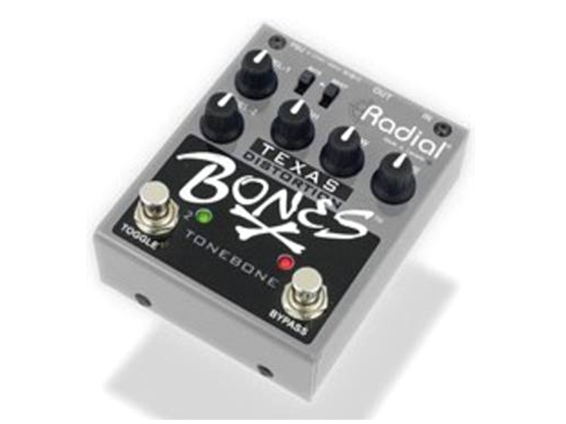Radial BONES Texas dual overdrive, gitarový efekt | Overdrive, Distortion, Fuzz, Boost - 1