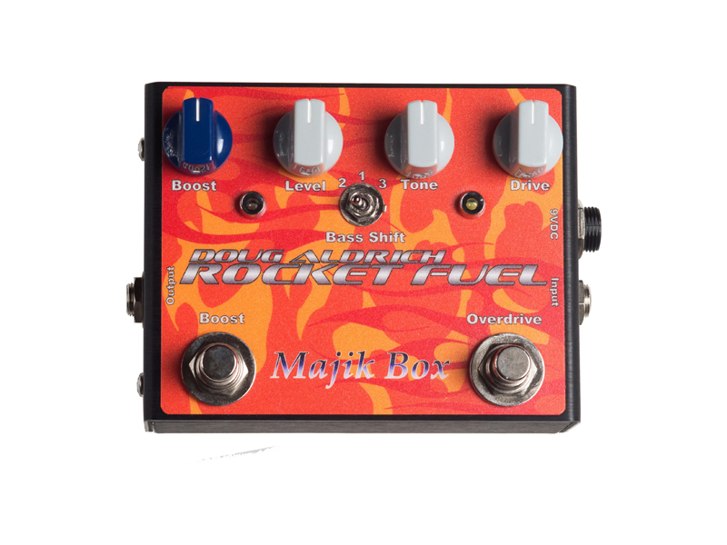 Majik Box Rocket Fuel Doug Aldrich Overdrive a Boost Whitesnake | Overdrive, Distortion, Fuzz, Boost - 1