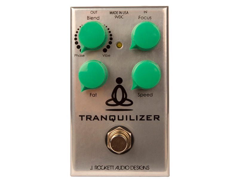 J. Rockett Tranquilizer Vibe a Phase | Overdrive, Distortion, Fuzz, Boost - 1