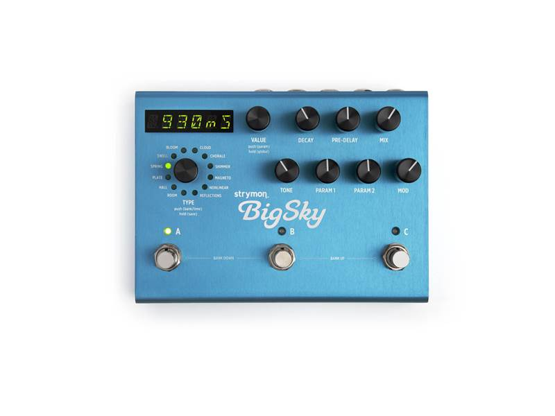 Strymon Big Sky | Reverb, Hall - 1