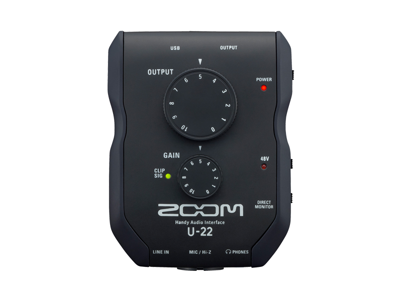 Zoom U-22 | Zvukové karty, Audio Interface - 1