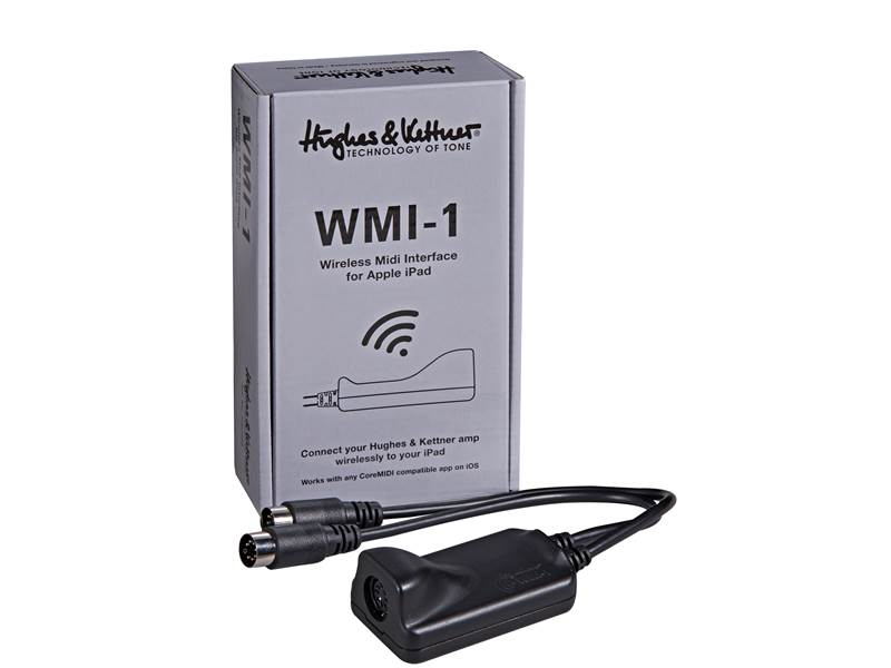 Hughes&Kettner WMI-1 Wireless Midi Interface | MIDI a špeciálne kontrolery - 1