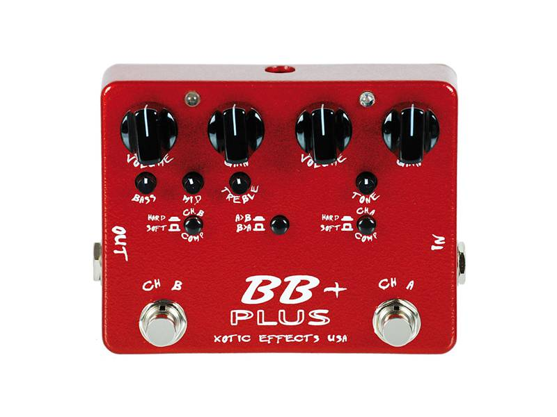 Xotic BB Plus PREAMP Distortion Overdrive Pedal | Overdrive, Distortion, Fuzz, Boost - 1
