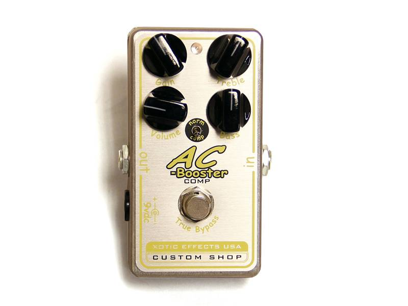 Xotic AC-Comp Compressor/Overdrive Pedal | Overdrive, Distortion, Fuzz, Boost - 1